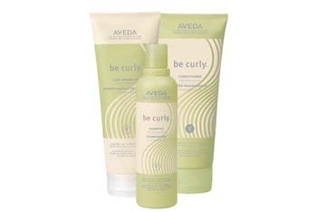 Aveda Be Curly hair products