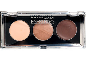 Maybelline Eye Studio Cream eyeshadow trio in 25 Neutral Liasons, $6.99