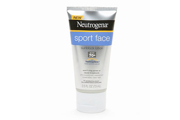 Neutrogena Ultimate Sport Face Sunblock lotion SPF 70, $7.99
