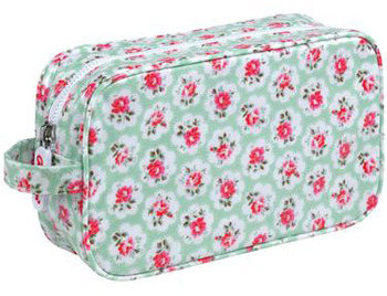 Cath Kidston Provence Rose Cosmetic Bag, $16