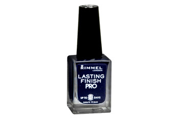 Rimmel Rimmel Lasting Finish Pro Nail Lacquer in Midnight from Walgreens.com, $3.99Lasting Finish Pro Nail Lacquer in Black Satin from Walgreens.com, $3.99