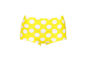 Yellow polka dot bikini bottom from LaRedoute.com, $15