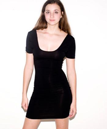 American Apparel Cotton Spandex Dress