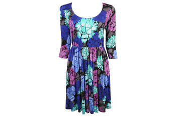 Floral knit dress from Forever21.com, $19.80