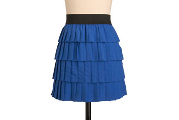 Punky Bluester skirt from ModCloth.com, $49.99