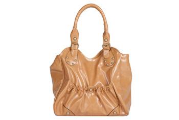 Studded glossy handbag from CharlotteRusse.com, $24.50