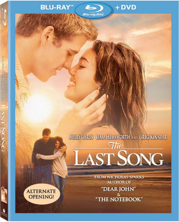 The Last Song Blu-ray Cover