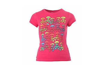 Skull tshirt from NewLook.com, $9