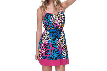Geo pop sundress from Forever21.com, $15.80
