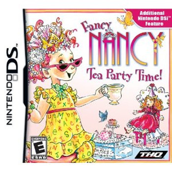 Fancy Nancy Tea Party Time!