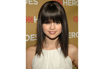 Change your hairstyle with bangs!
