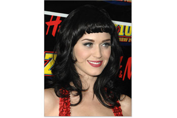 Katy Perry retro pin up bangs