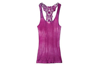 Lace back rib tank top by Athleta.com, $34