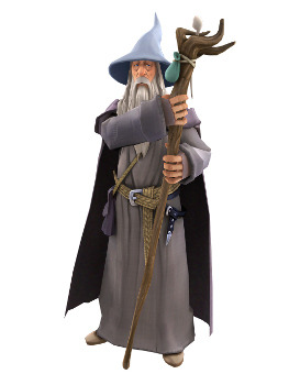 Gandalf - The Lord of the Rings: Aragorns Ques