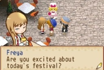 Harvest Moon Grand Bazaar screenshot Freya