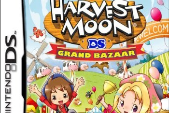 Harvest Moon Grand Bazaar box art