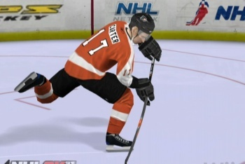 NHl 2K11 Flyers player
