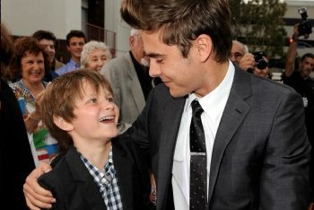 Charlie Tahan And Zac Efron