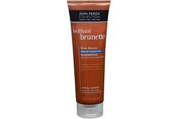 John Frieda Brilliant Brunette Moisturizing Shampoo and Conditioner, $5.99 ea