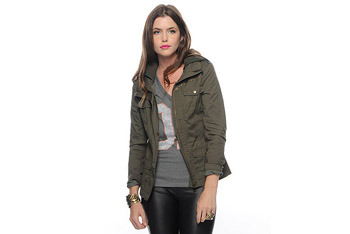 Military knit jacket from Forever21.com, $32.80