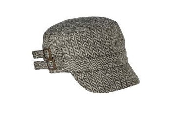 Xhilaration herringbone military hat from Target.com, $9.99