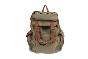 Ecote canvas backpack from UrbanOutfitters.com, $68