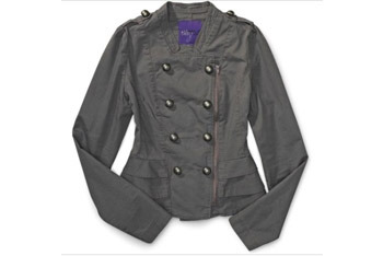 Miley Cyrus military jacket from Walmart.com, $20