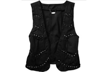 Studded military vest from Walmart.com, $7