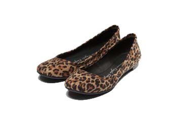 Leopard ballet flat from AmericanEagle.com, $29.50