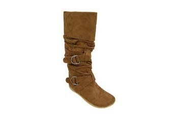 Brown suede boots from WalMart.com, $34