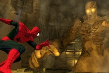 Spider-Man Shattered Dimensions screenshot Amazing Sandman