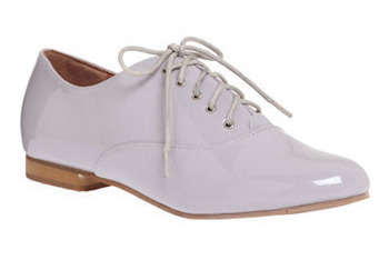 Lilac superlative flats from ModCloth.com, $39.99