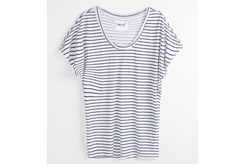 Kirra Vinyl black striped teeshirt from PacSun.com, $19.50