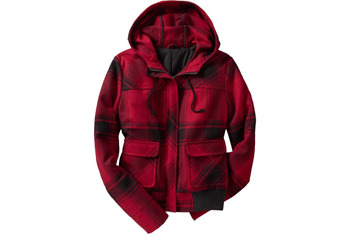 Wool-blend bomber jacket from OldNavy.com, $59.50