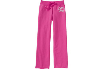 Logo fleece pants from OldNavy.com, $12.99