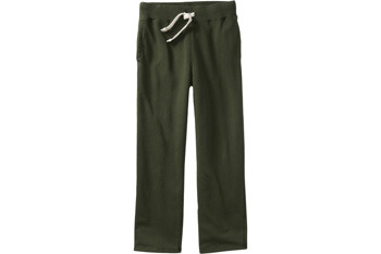 Jersey fleece sweatpants from OldNavy.com, $19.50