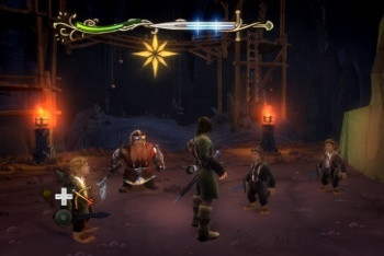 Lord of the Rings: Aragorn's Quest screenshot hobbits