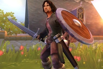 Lord of the Rings: Aragorn's Quest King Aragorn