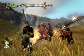 Lord of the Rings: Aragorn's Quest screenshot battle