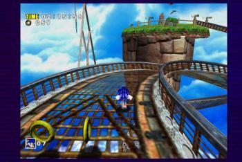 Sonic Adventure Sonic running