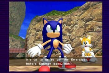 Sonic Adventure dialogue