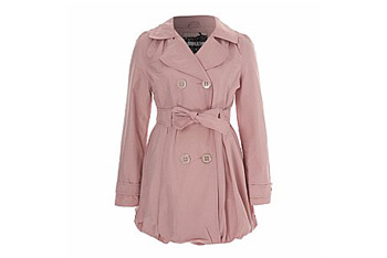 Puff hem mac in pink from NewLook.com, $30