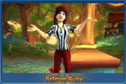 Referee Ruby's Free Realms Q