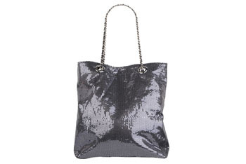 Sequin tote bag from Forever21.com, $10.50
