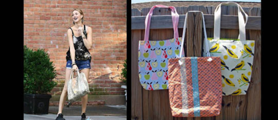 Feature tote feature