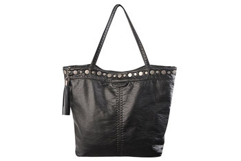 Antique stud trimmed tote from Forever21.com, $29.80
