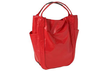 Coated canvas tote from Gap.com, $29.99