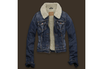 Lake Hodges sherpa collar denim jacket from Hollisterco.ca., $120