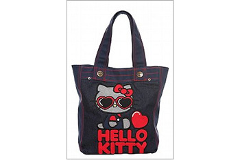 Hello Kitty Sunglasses denim tote from Torrid.com, $40