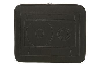 Cassette laptop sleeve from Topshop.com, $30